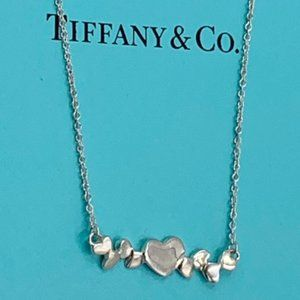Tiffany & Co. Multiple Hearts Necklace